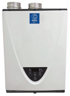 State condensing tankless water heaters