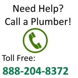 water heaters call a plumber banner
