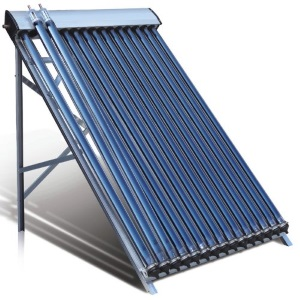 Solar water heaters - evacuated tubes