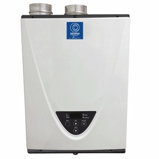 State condensing tankless water heater