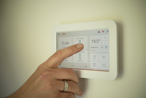 Thermostat for HVAC