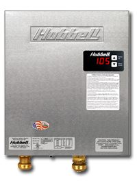 Hubbell tankless electric water heater
